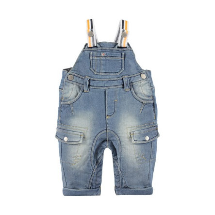KANZ Boys Jeans-Latzhose blue denim