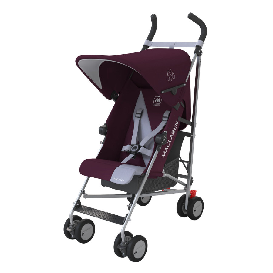 MACLAREN Wózek spacerowy Triumph Plum/Grey Dawn