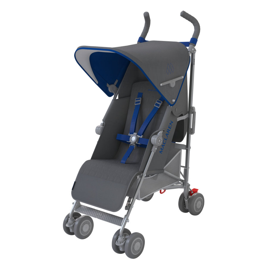 MacLaren Buggy Quest Sport Charcoal/Harbour Blue