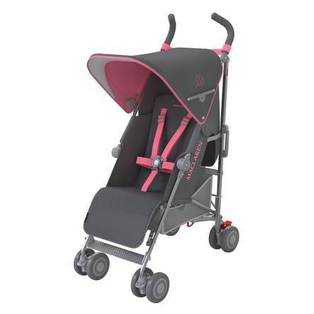 MacLaren Passeggino leggero Quest Sport Charcoal/Primrose, carbone/rosa