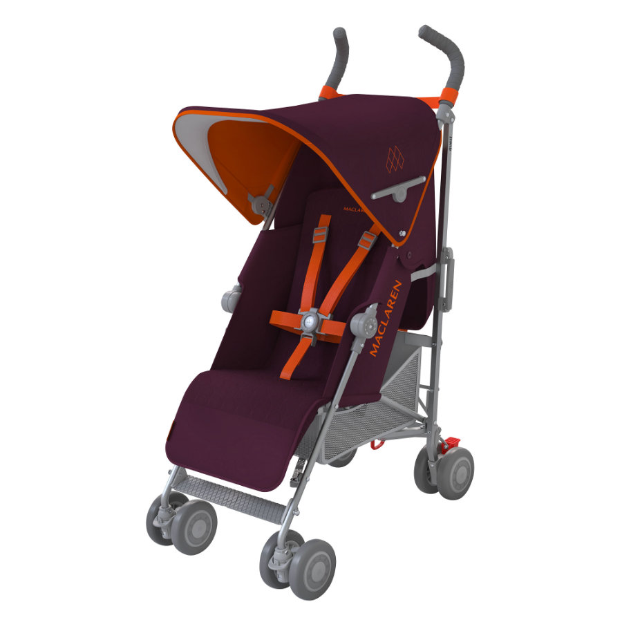 MacLaren Poussette-canne Quest Sport Plum/Marmalade, collection 2016