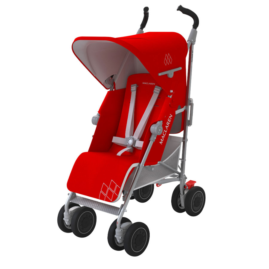 MacLaren Passeggino leggero Techno XT Cardinal/Silver, rosso/ argento
