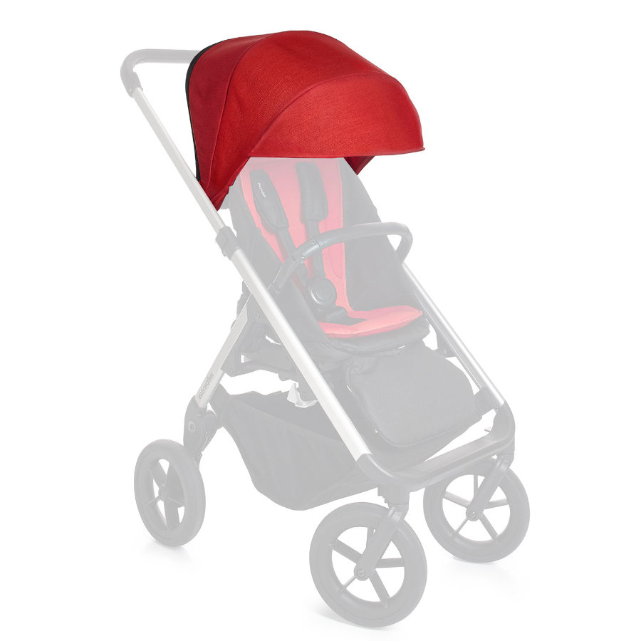 EASYWALKER Parasol voor Mosey kinderwagen London Red