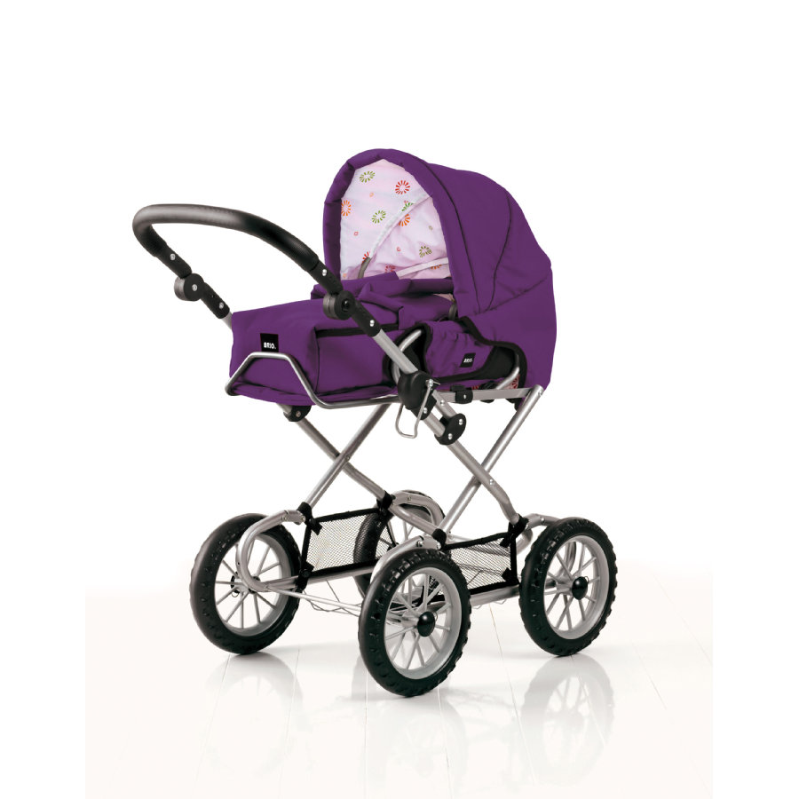 BRIO Doll's Pram, Purple