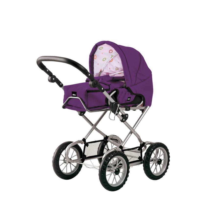 BRIO Kočárek pro panenky - fialový