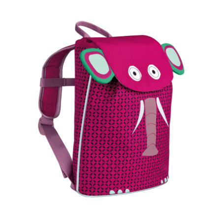 LÄSSIG 4Kids Sac à dos Mini Duffle Backpack Wildlife - Elephant
