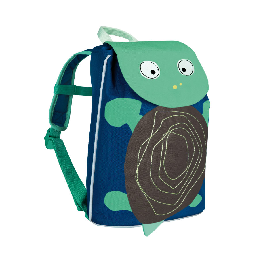 LÄSSIG 4Kids Ruckssack - Mini Duffle Backpack Wildlife - Turtle