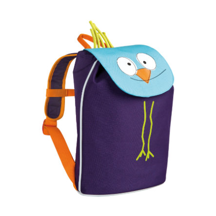 LÄSSIG 4Kids Plecak - Mini Duffle Backpack Wildlife - Ptaszek