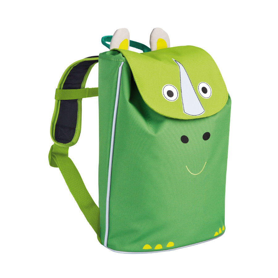 LÄSSIG 4Kids Plecak - Mini Duffle Backpack Wildlife - Nosorożec