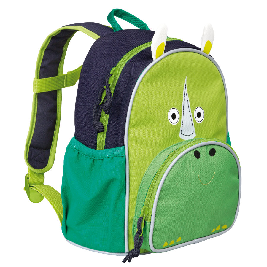 LÄSSIG 4Kids Ryggsäck - Mini Backpack Update Wildlife - Rhino