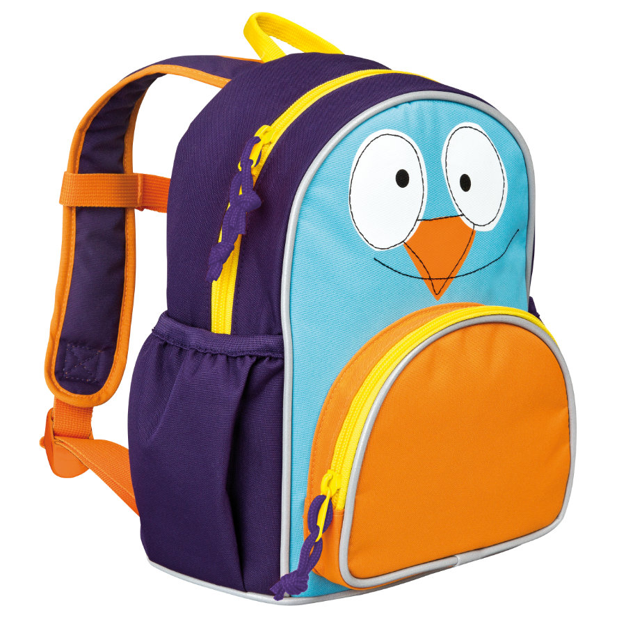 LÄSSIG 4Kids Plecak - Mini Backpack Update Wildlife - Ptaszek