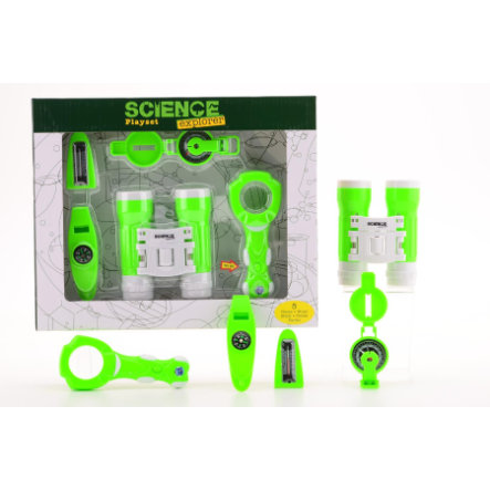 JOHNTOY Science Explorer - Lekset i kartong, 5-delar