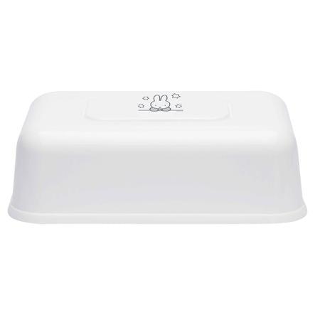 bébé-jou® Feuchttücherbox Design: Miffy Stars in weiß