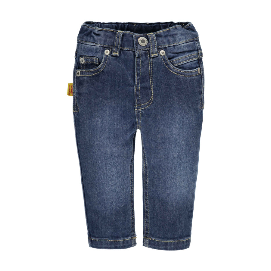 STEIFF Boys Spodnie jeans dark blue denim