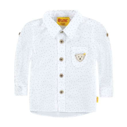 STEIFF Boys Mini Koszula bright white