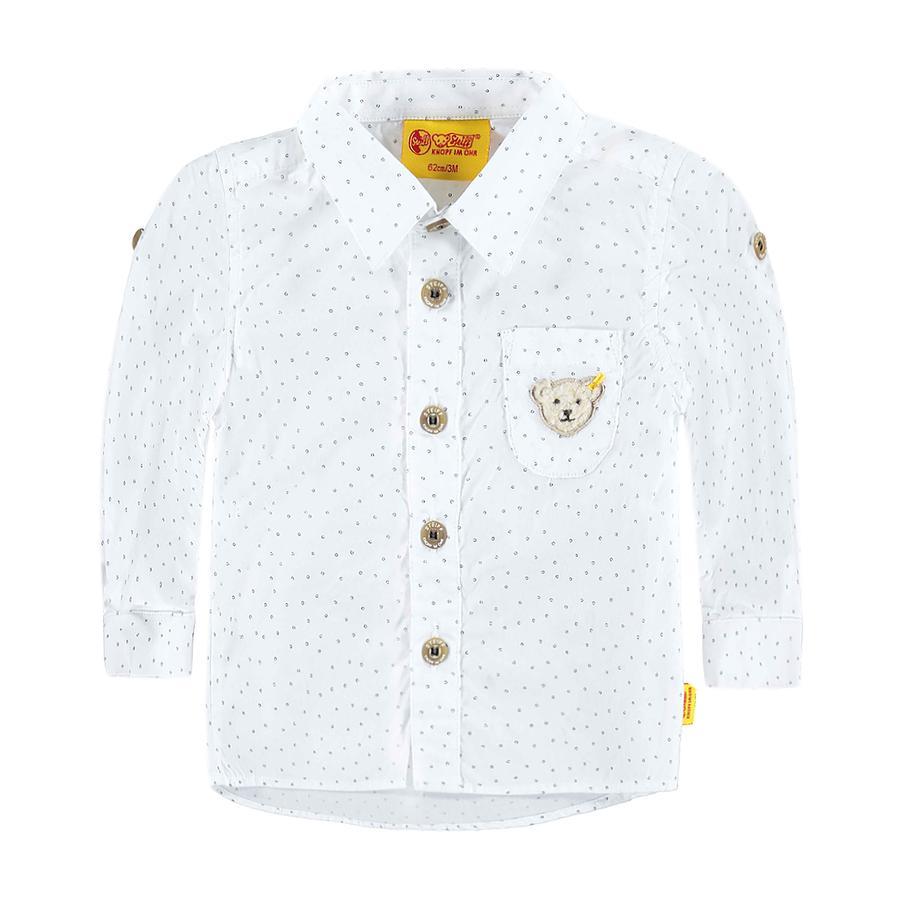 STEIFF Boys Mini Hemd bright white