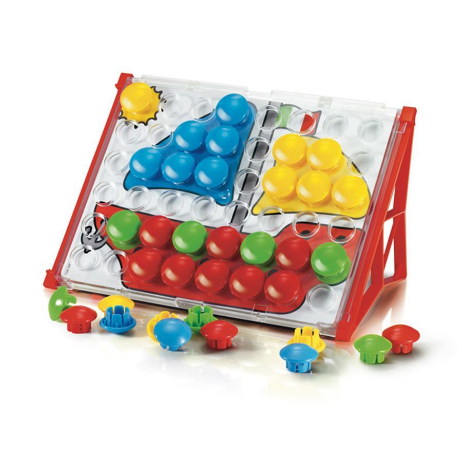 beluga Quercetti - Steckspiel Fanta Color Junior Basic 48