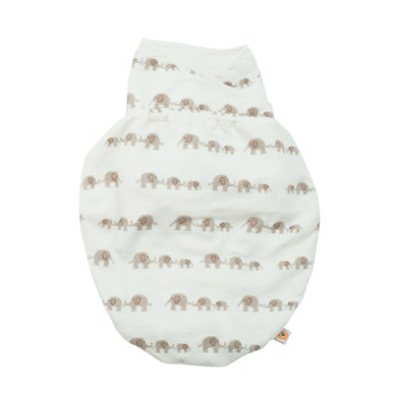 ERGObaby Couverture d'emmaillotage Single Elephant