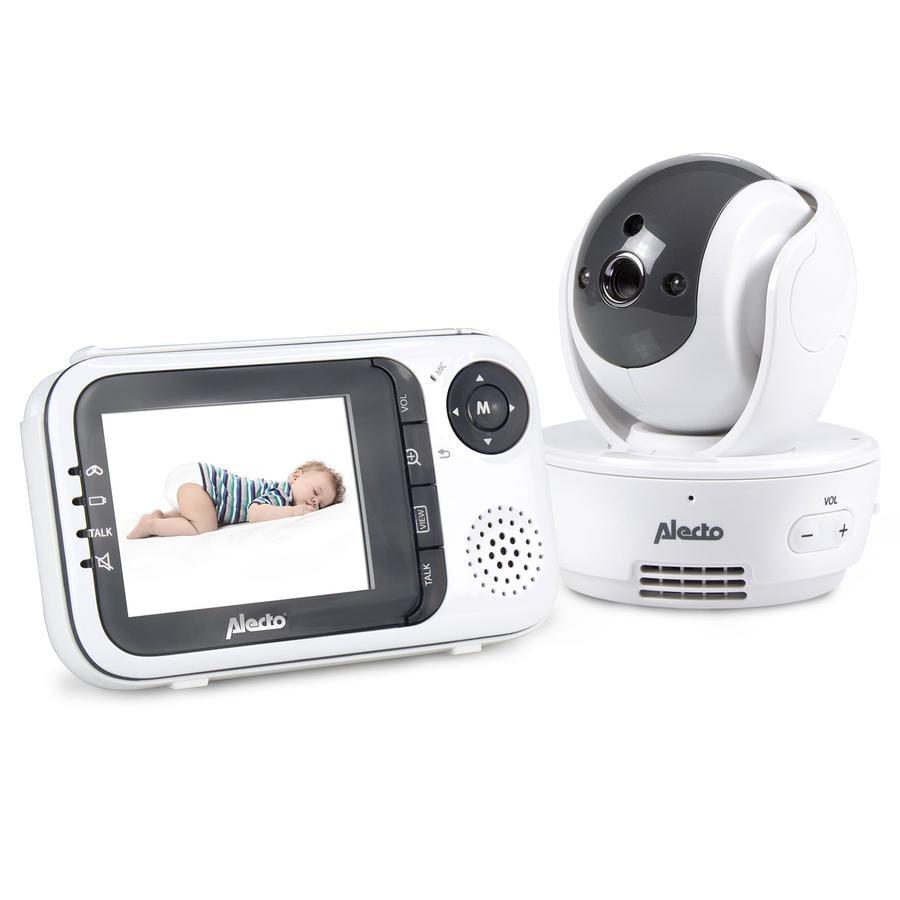 """ALECTO Babyphone numérique vidéo DVM-190 avec écran couleurs LCD 2,8"""""""