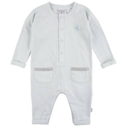 FIXONI Boys Baby Schlafoverall 1/1 Arm lightblue