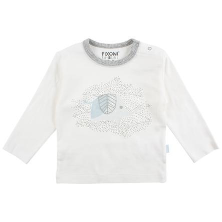 FIXONI långärmad baby vit