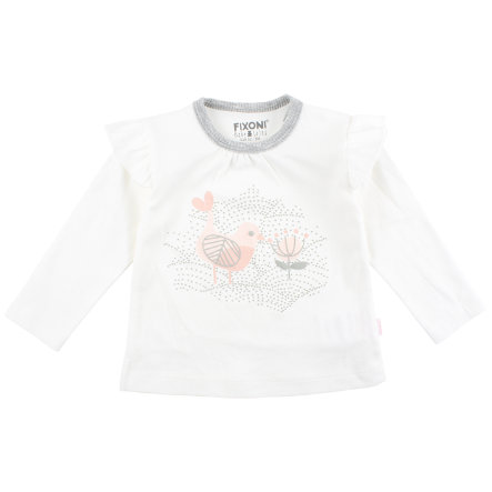 FIXONI Girls Longsleeve white