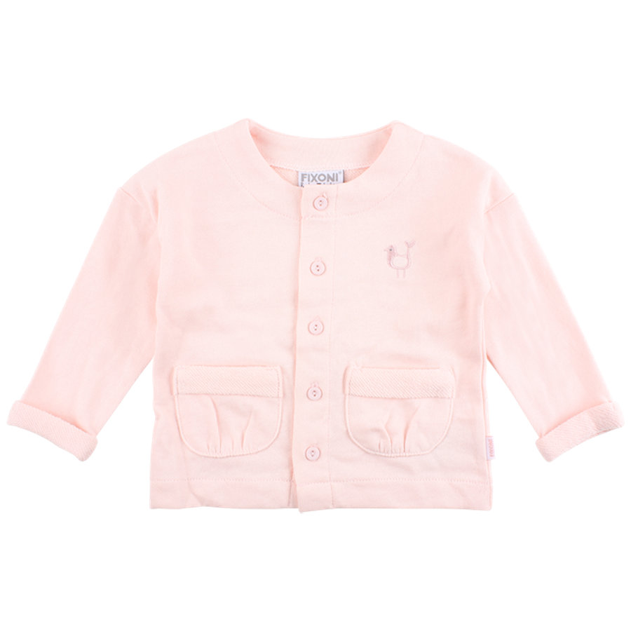 FIXONI Girls Sweatjacke rosé