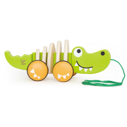 "HAPE Pull-along Toy Crocodile ""Croc"""