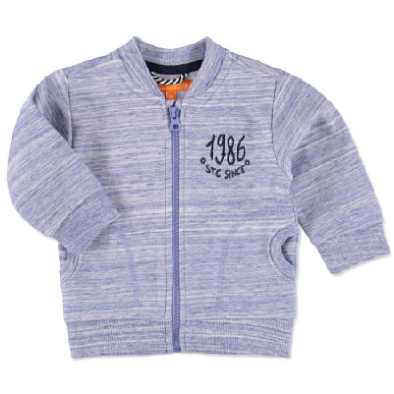 STACCATO Boys Baby Sweatjacke blue strucuture