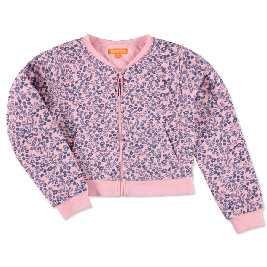 STACCATO Girls Mini Sweatjacke powder