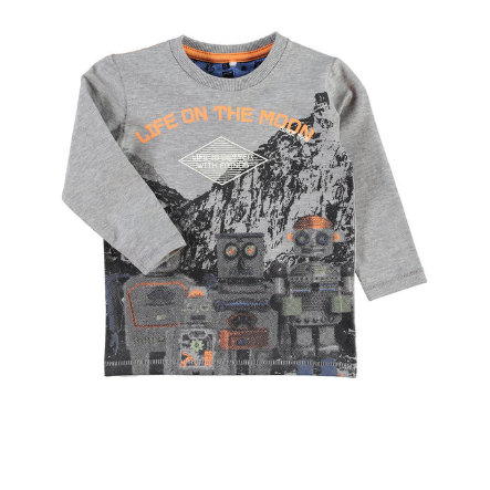 NAME IT Boys Longsleeve NITEKLAUS grey melange