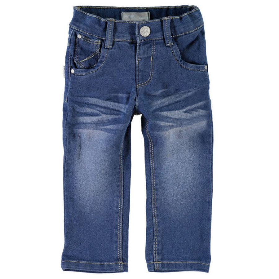 NAME IT Girls Džíny NITSIF medium blue denim