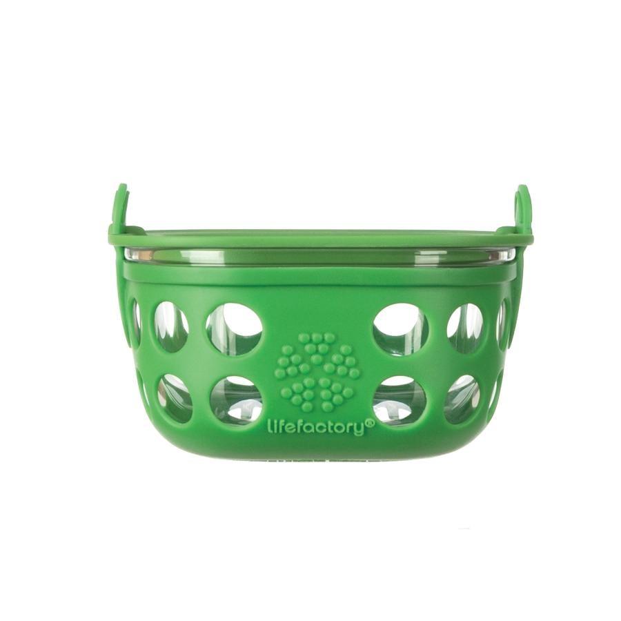 Lifefactory Glazen bewaarbox grass green 240ml