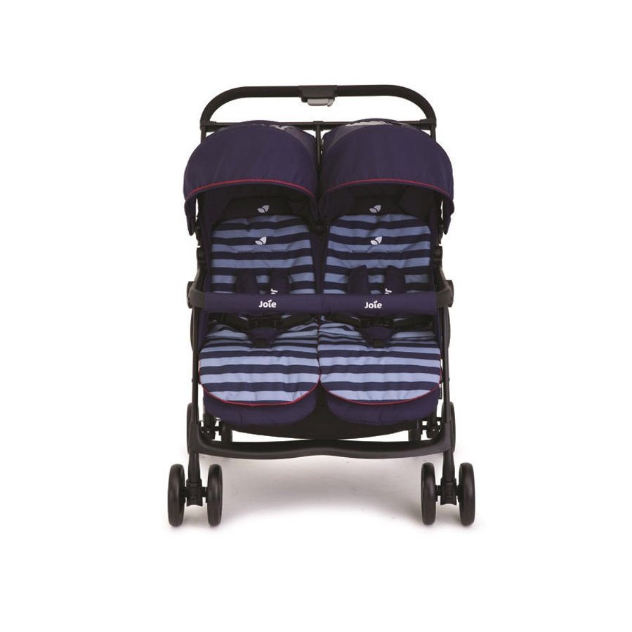 JOIE Zwillingsbuggy AireTwin Nautical Navy