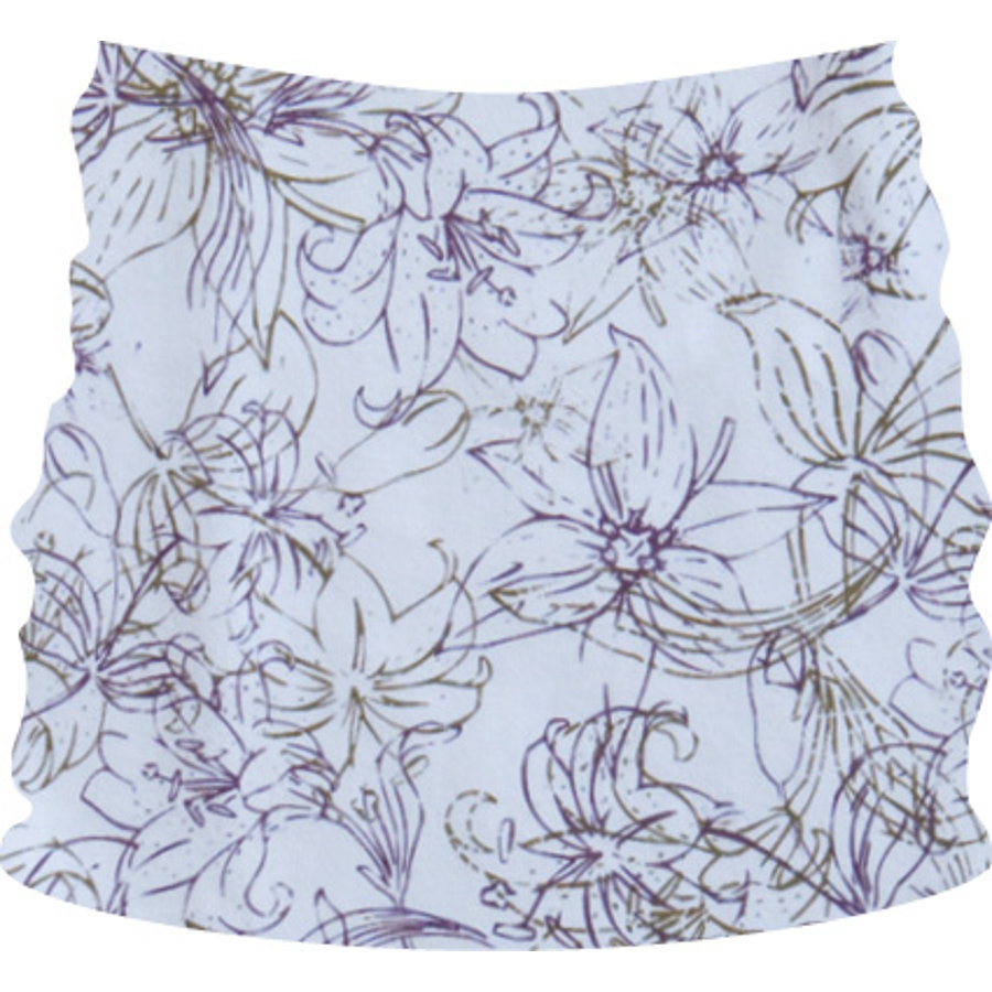 LÄSSIG Bellyband dotted flower straight