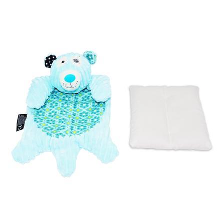 LES DEGLINGOS Nursery - Värmekudde, isbjörnen Illicos