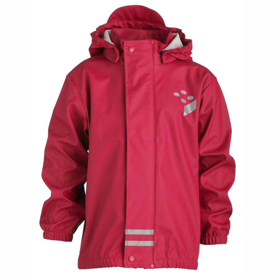 LEGO WEAR Girls Regenjacke JEAN 206 red
