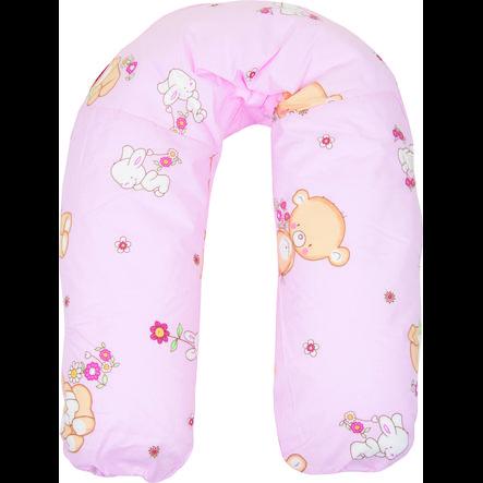Fillikid Kojící polštář medvídci růžový 160 cm