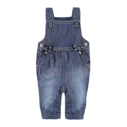 STEIFF Girls Latzhose blue denim