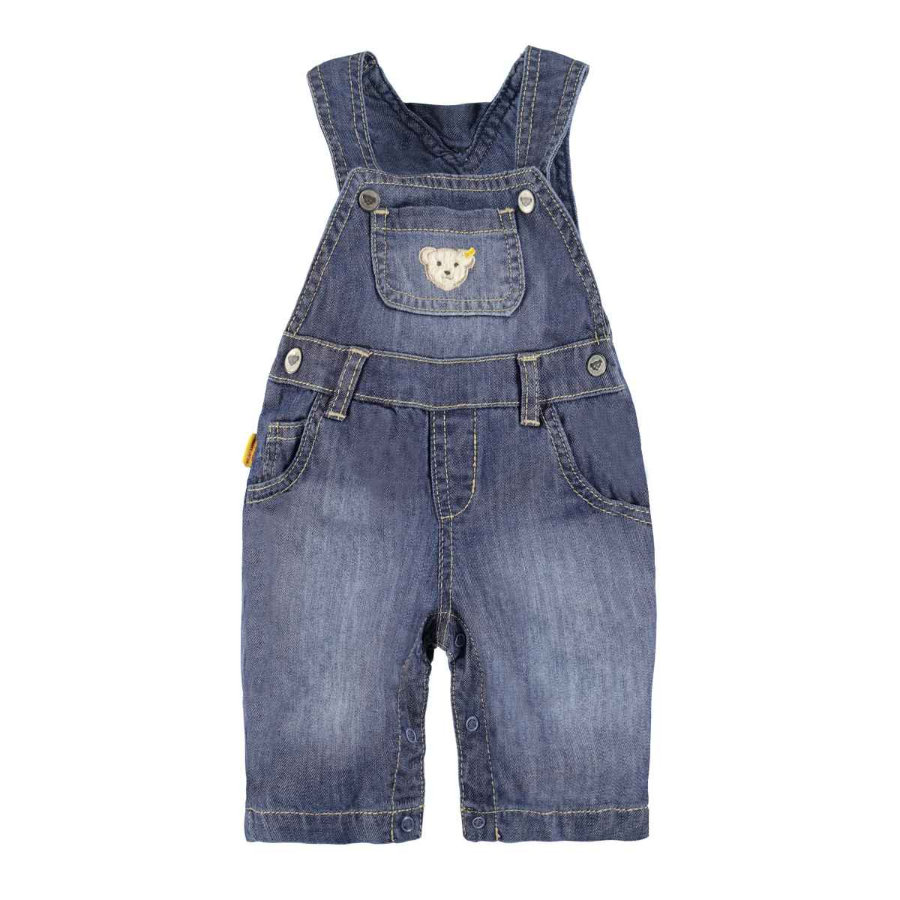 STEIFF Boys Latzhose dark blue denim