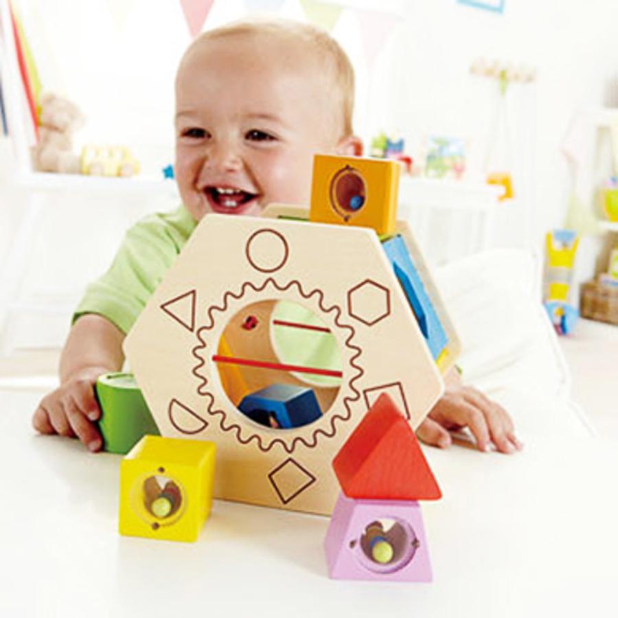 Box a incastro in legno Shake & Match 7 pezzi