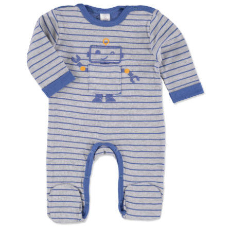 KANZ Boys Schlafoverall 1/1 Arm yard stripe