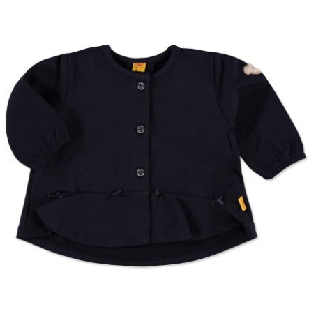 STEIFF Girls Sweatjacke, marine