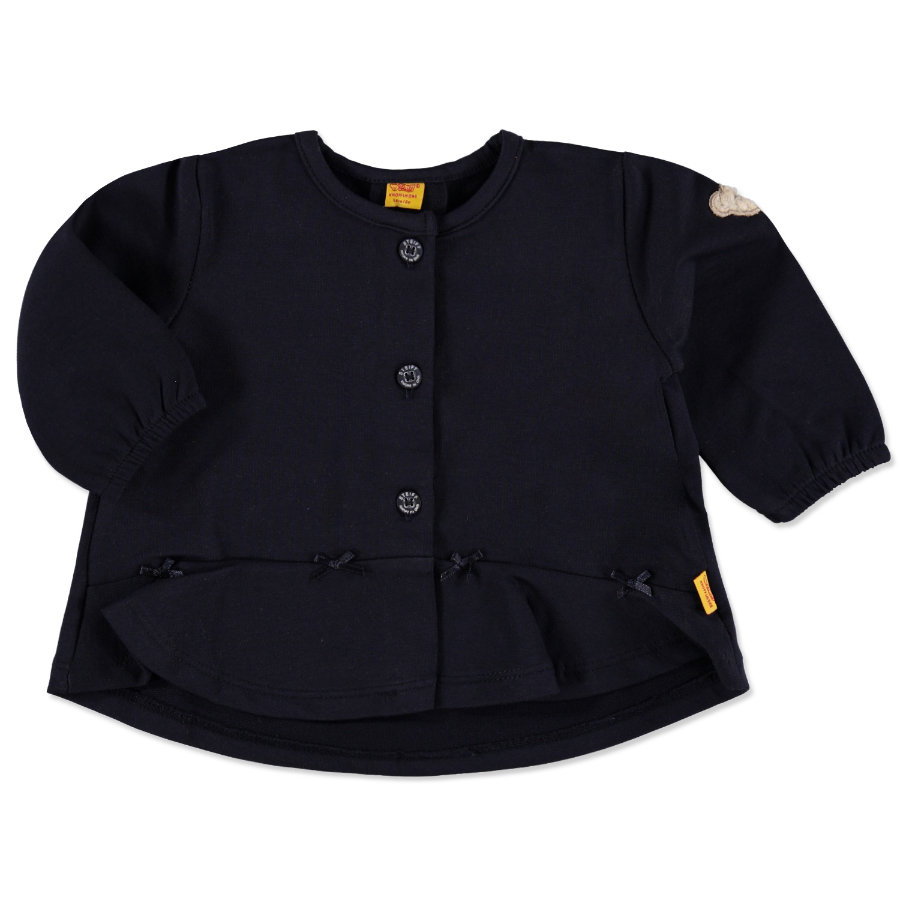 STEIFF Girls Sweatjacke marine