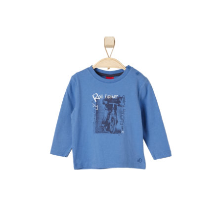 s.OLIVER Boys Longsleeve medium blue