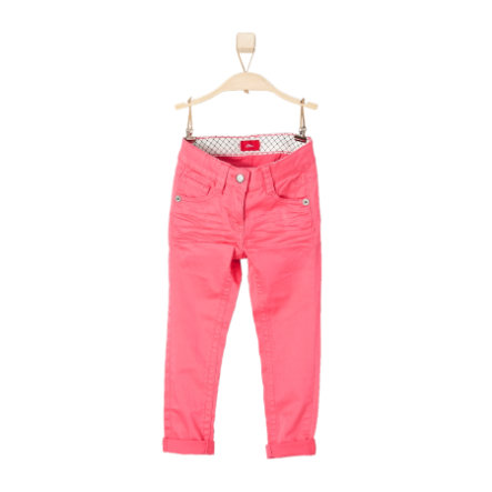 s.OLIVER Girls Mini Hose pink