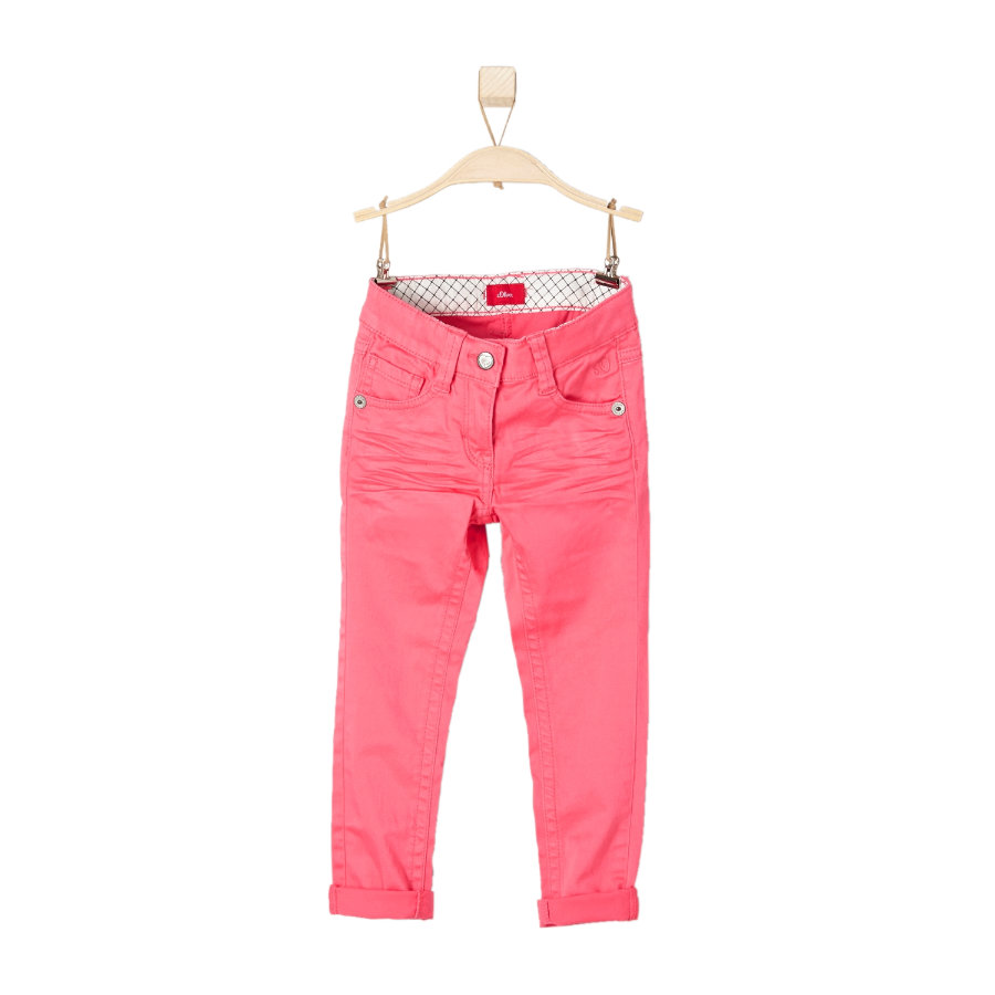 s.OLIVER Girls Mini Spodnie pink