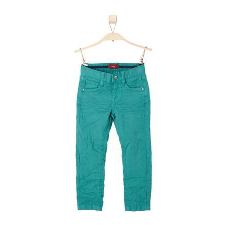 s.OLIVER Boys Spodnie Jeans green