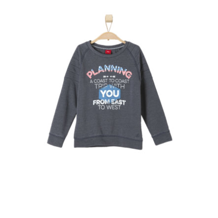 s.OLIVER Sweatshirt dark blue