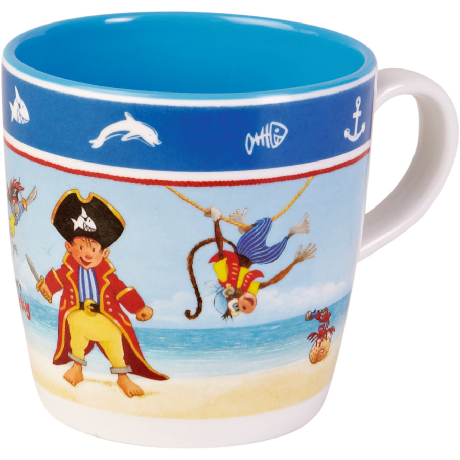 COPPENRATH Melamin-Tasse - Capt'n Sharky